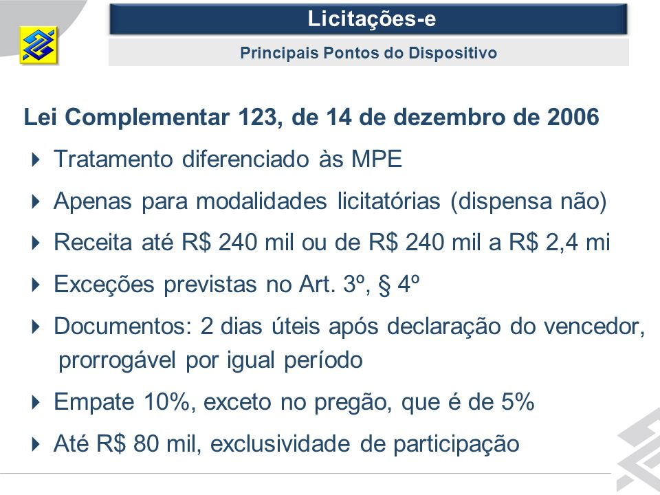 Principais Pontos do Dispositivo
