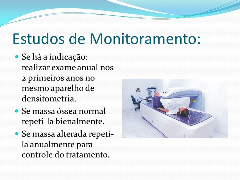 Estudos de Monitoramento: