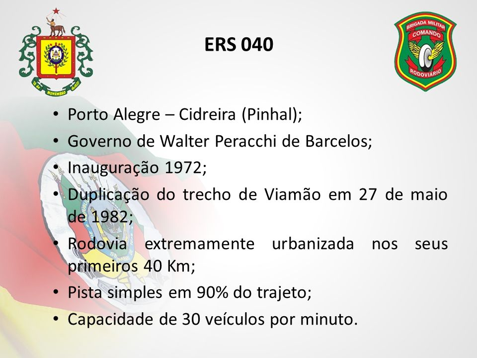 ERS 040 Porto Alegre – Cidreira (Pinhal);
