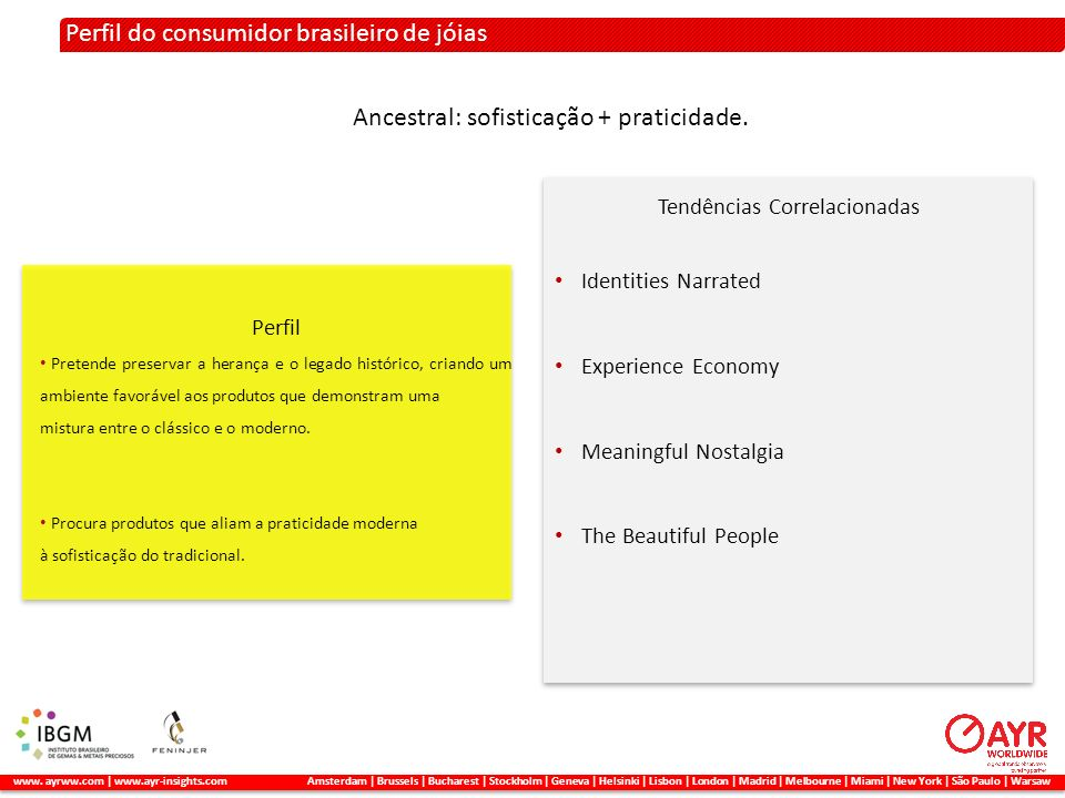 Perfil do consumidor brasileiro de jóias 2. A METODOLOGIA APLICADA