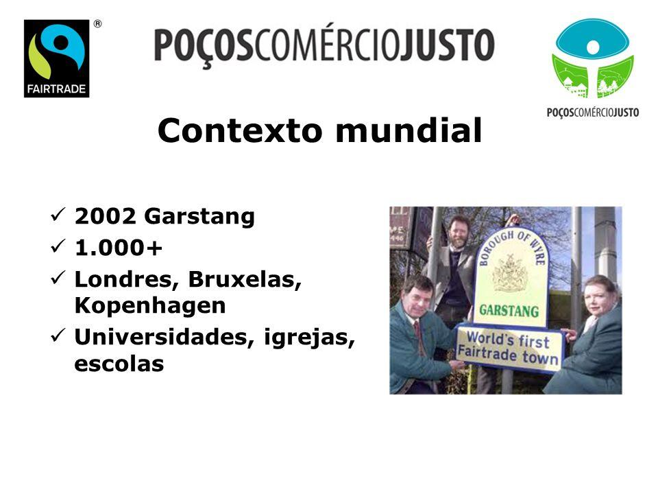 Contexto mundial 2002 Garstang 1.000+ Londres, Bruxelas, Kopenhagen