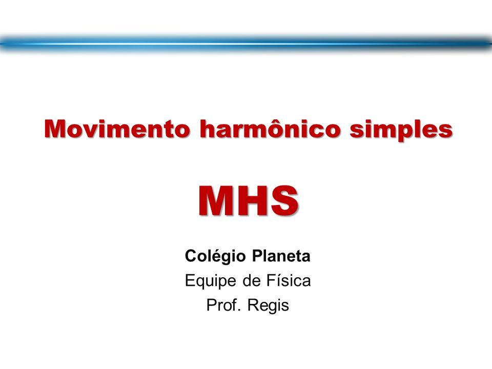 Movimento harmônico simples MHS
