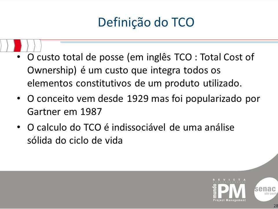 Definição do TCO