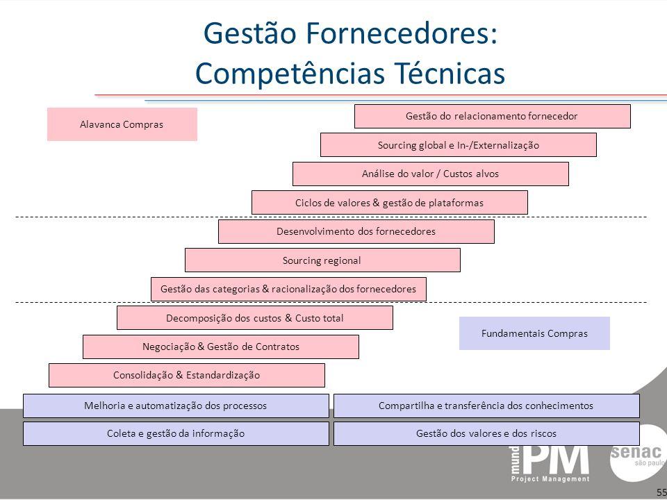 Gestão Fornecedores: Competências Técnicas