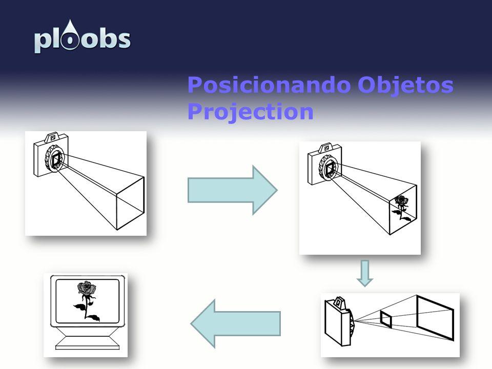 Posicionando Objetos Projection