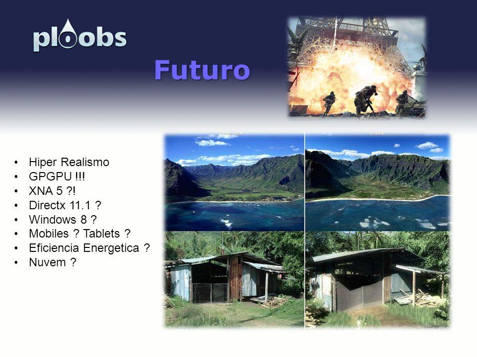 Futuro Hiper Realismo GPGPU !!! XNA 5 ! Directx 11.1 Windows 8