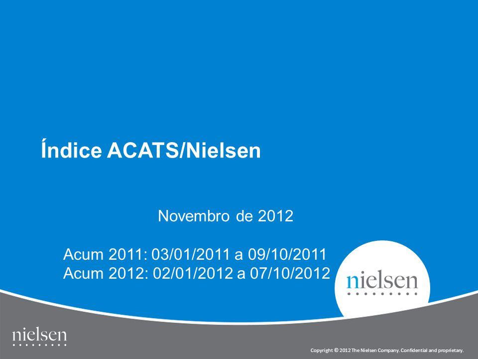 Índice ACATS/Nielsen Novembro de 2012