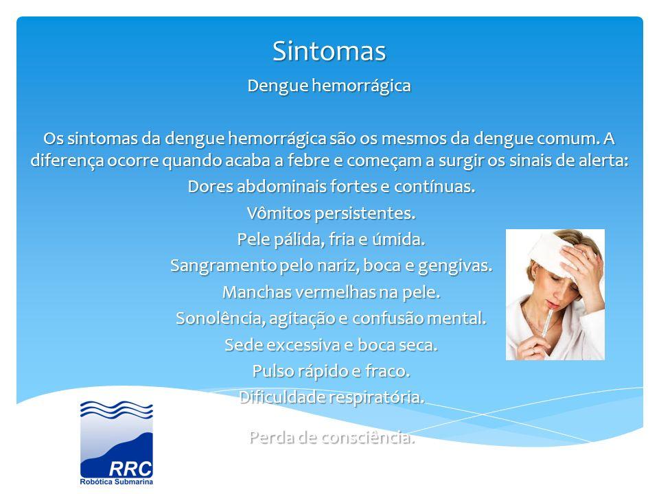 Sintomas Dengue hemorrágica