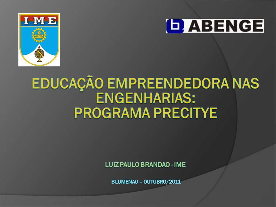 AVALIAÇÃO DA EDUCAÇÃO SUPERIOR NO BRASIL UNESC - 27/02/2010