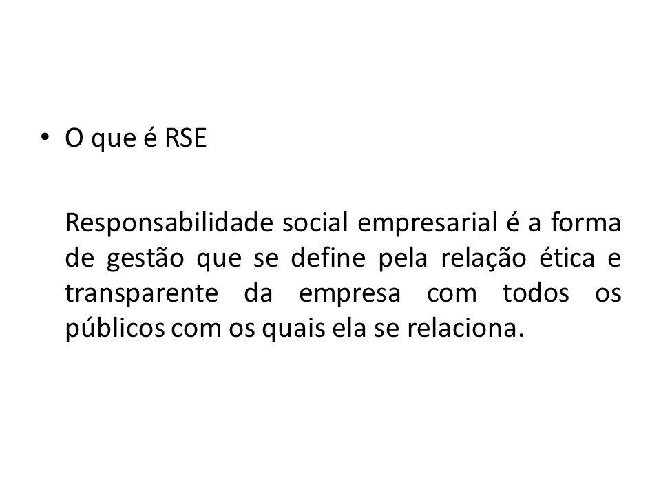 O que é RSE