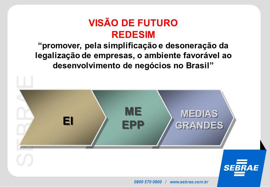 ME EPP EI VISÃO DE FUTURO REDESIM MEDIAS GRANDES