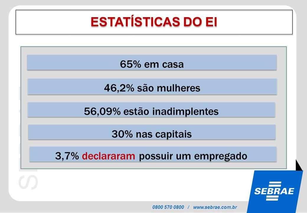 3,7% declararam possuir um empregado