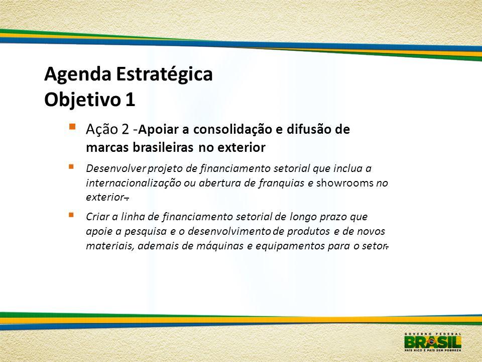 Agenda Estratégica Objetivo 1