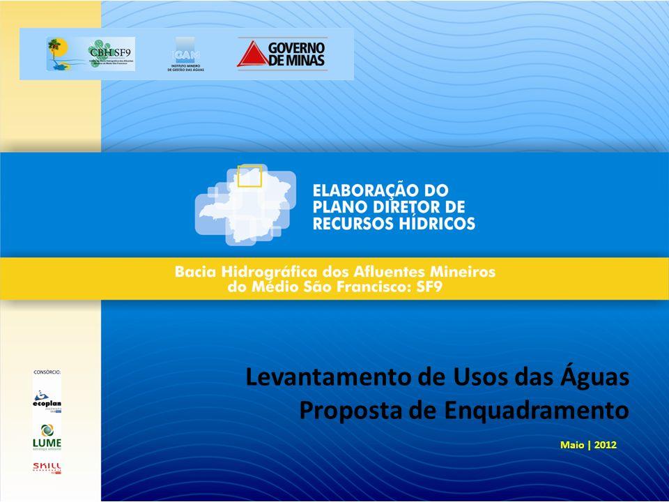 Levantamento de Usos das Águas Proposta de Enquadramento