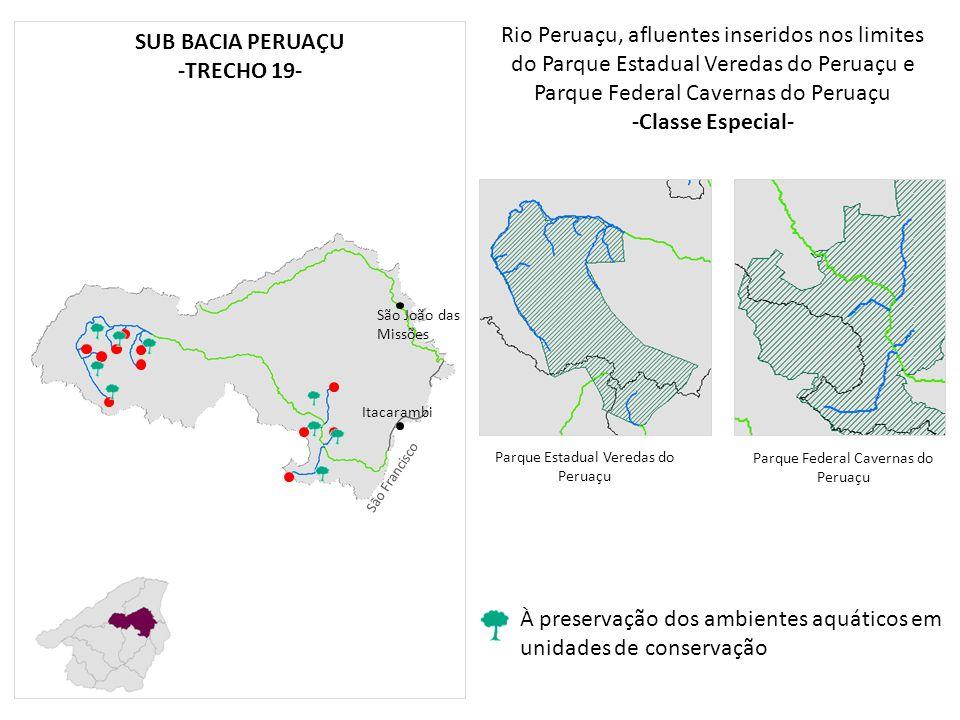-Classe Especial- SUB BACIA PERUAÇU -TRECHO 19-
