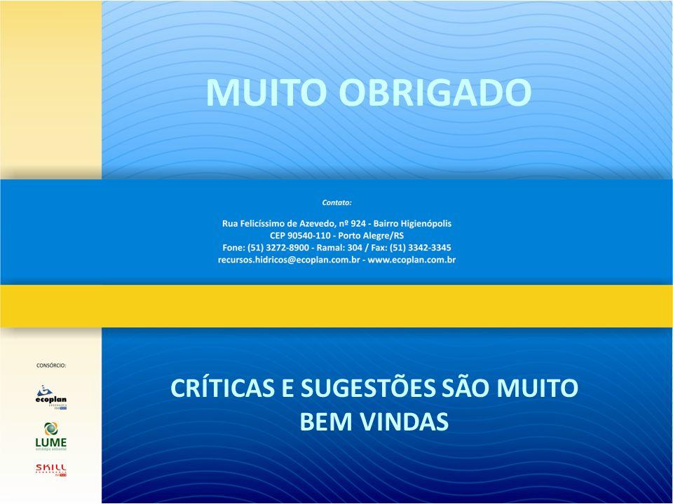 CRÍTICAS E SUGESTÕES SÃO MUITO BEM VINDAS