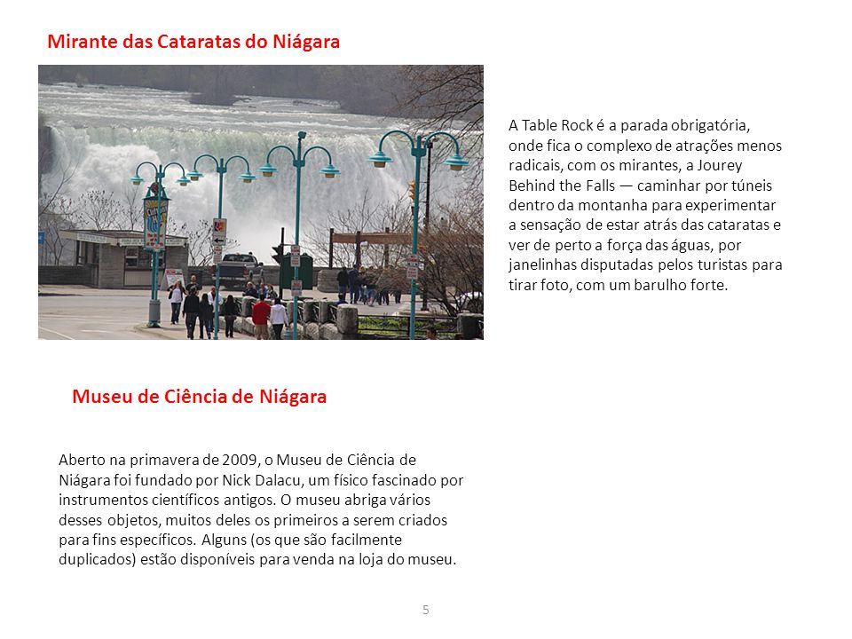 Mirante das Cataratas do Niágara