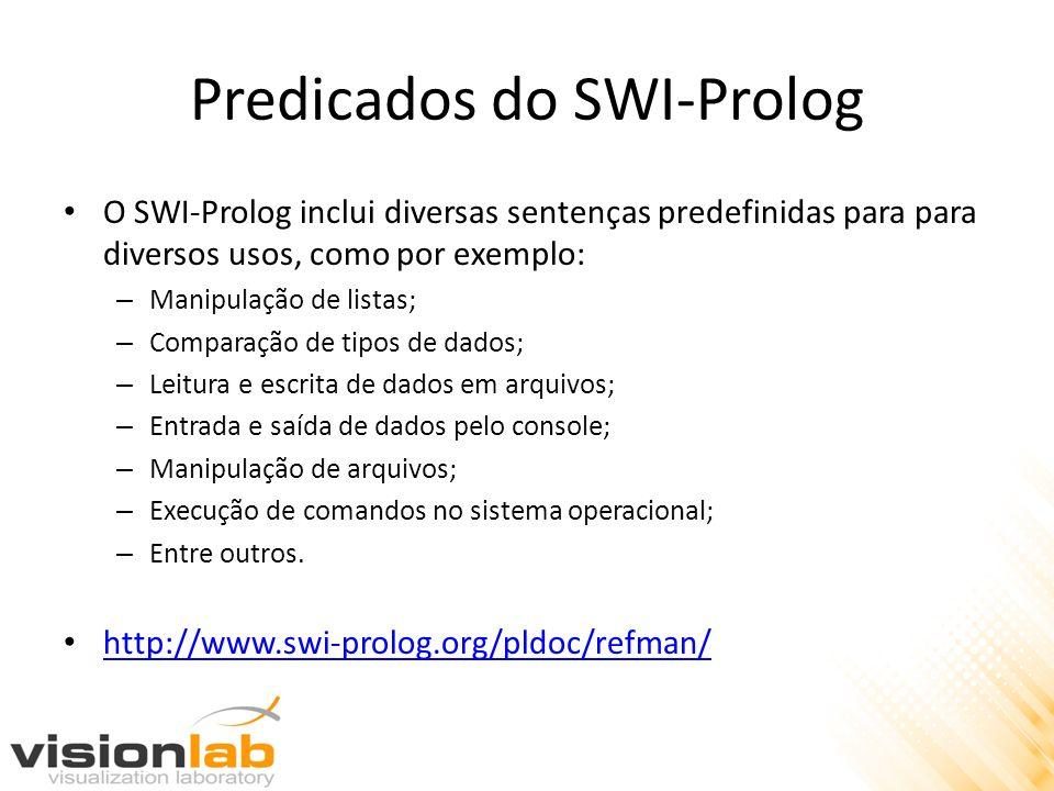 Predicados do SWI-Prolog