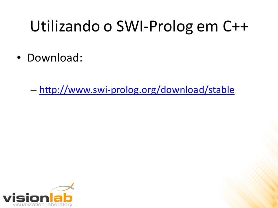 Utilizando o SWI-Prolog em C++