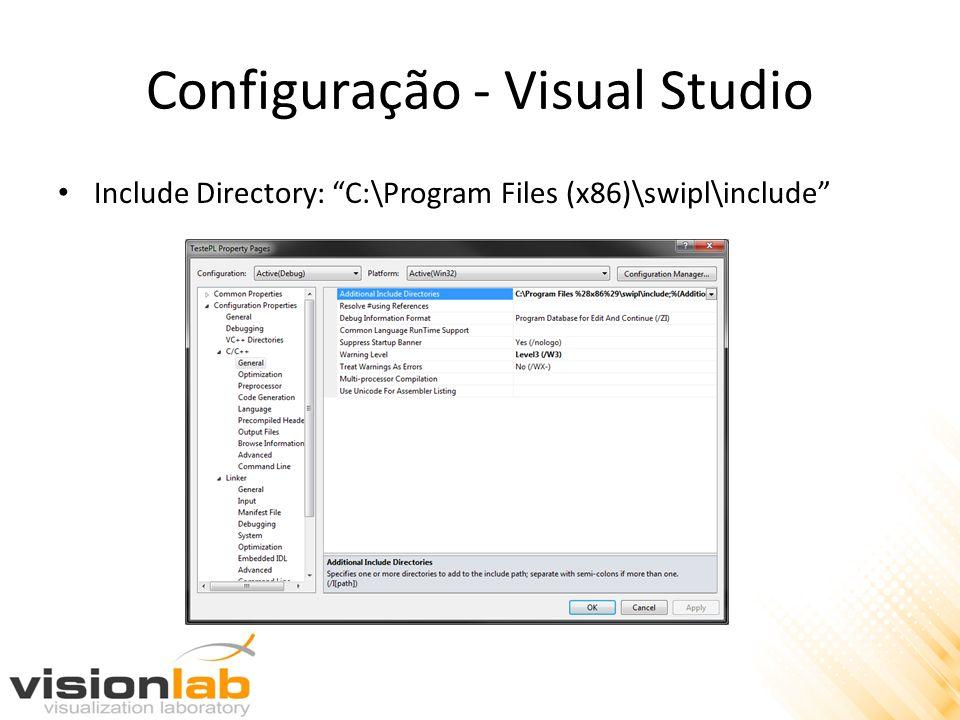 Configuração - Visual Studio