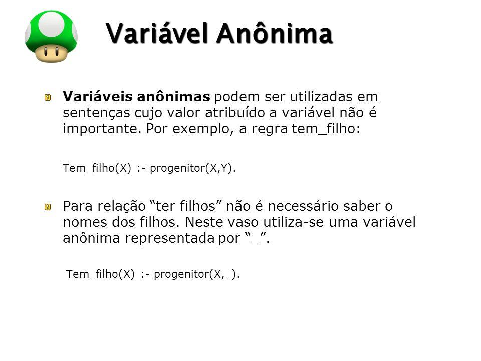 Variável Anônima