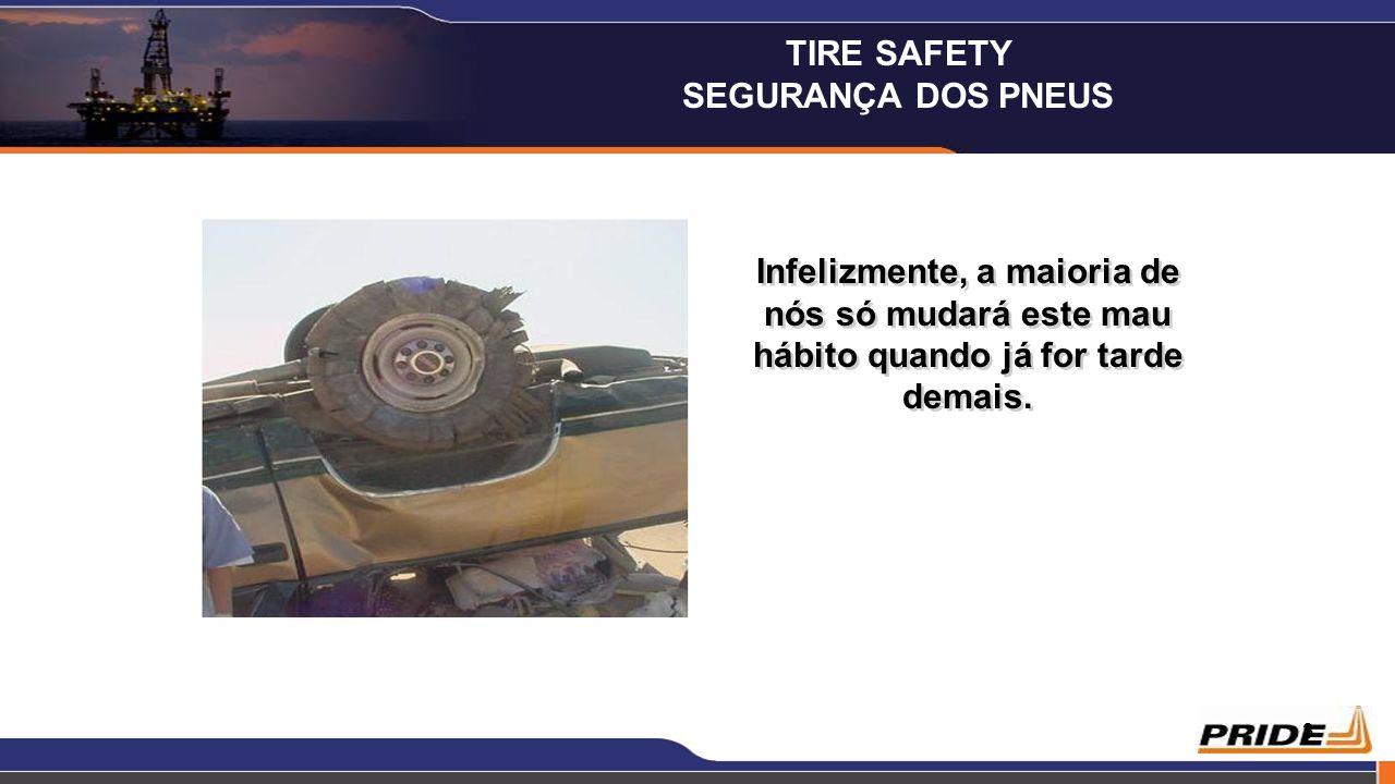 TIRE SAFETY SEGURANÇA DOS PNEUS.