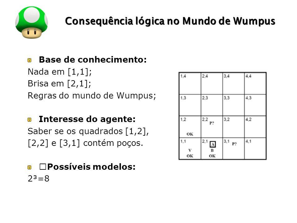 Consequência lógica no Mundo de Wumpus