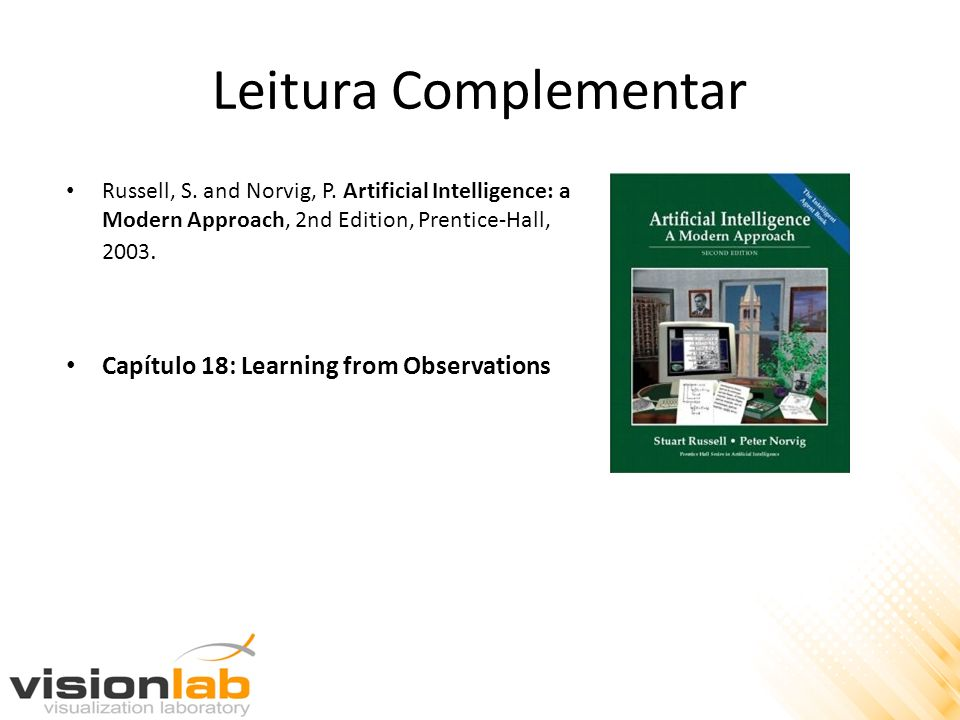 Leitura Complementar Capítulo 18: Learning from Observations
