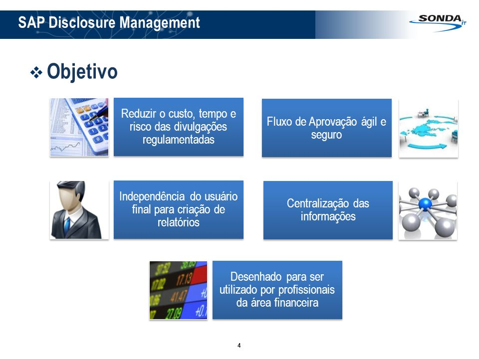 Objetivo SAP Disclosure Management
