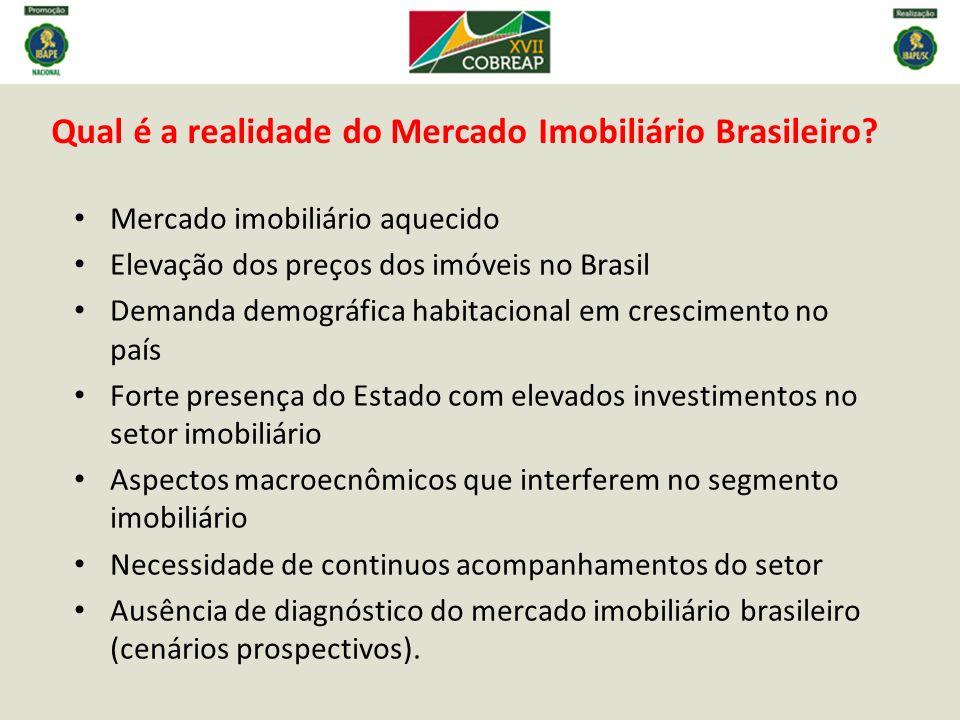 Qual é a realidade do Mercado Imobiliário Brasileiro