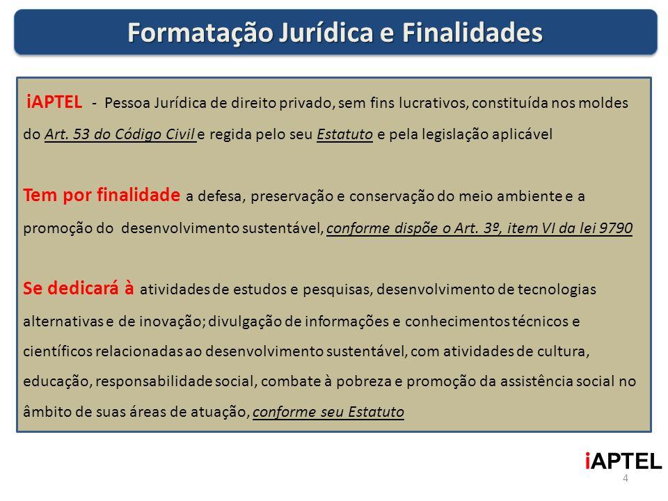 Formatação Jurídica e Finalidades