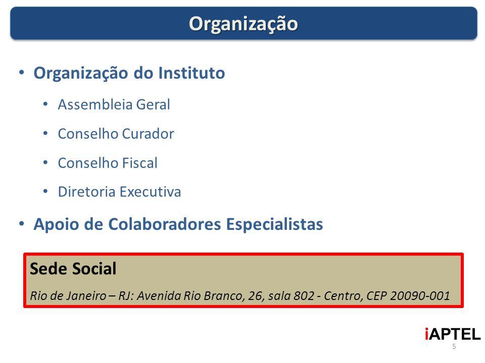 Organização Organização do Instituto