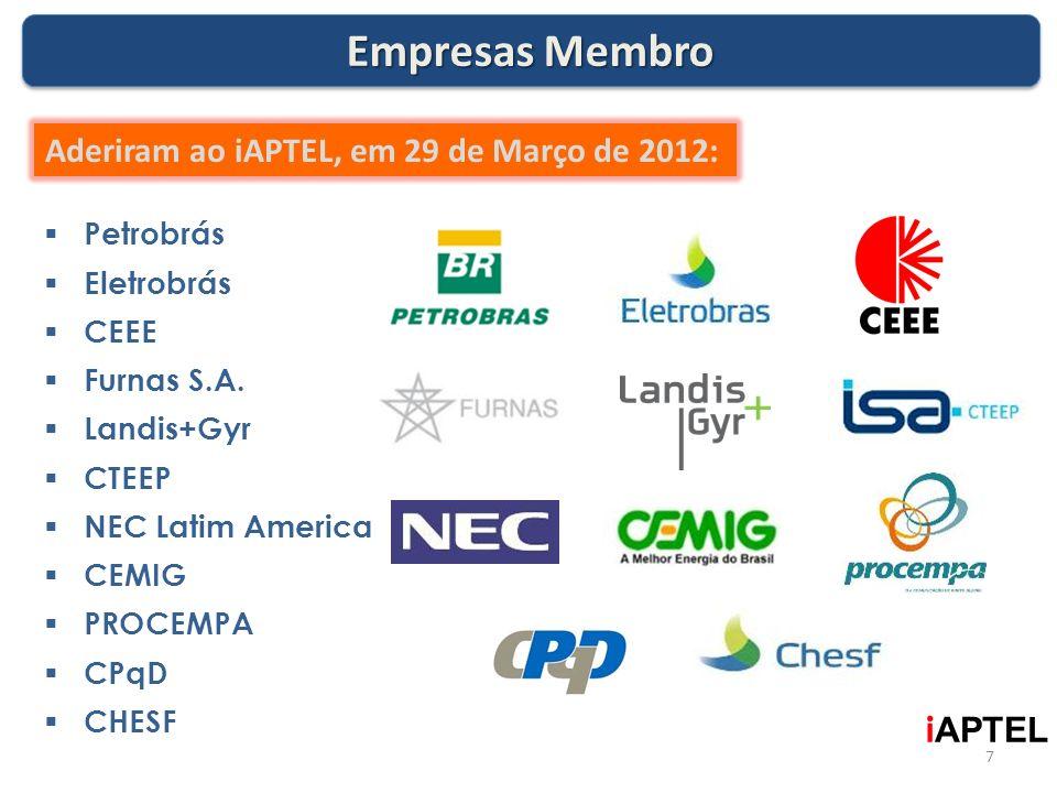 Empresas Membro Aderiram ao iAPTEL, em 29 de Março de 2012: iAPTEL