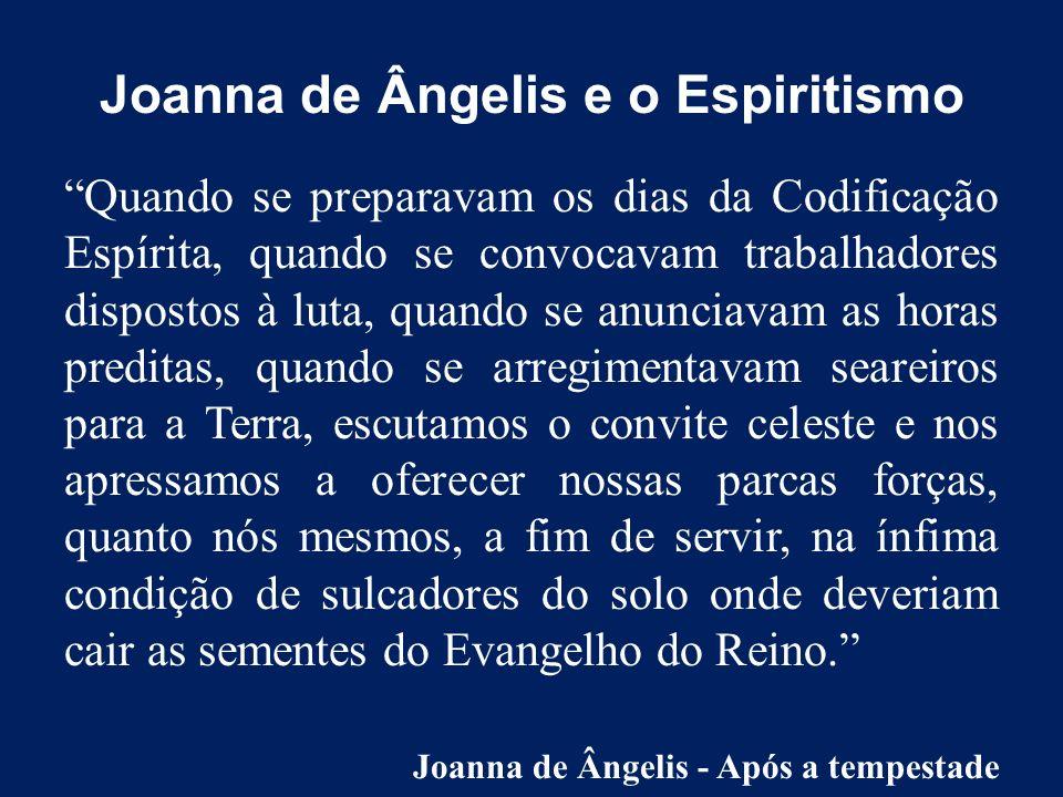 Quem é Joanna De Ângelis? Estudos Aprofundados Em Joanna