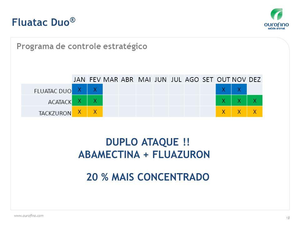 DUPLO ATAQUE !! 20 % MAIS CONCENTRADO