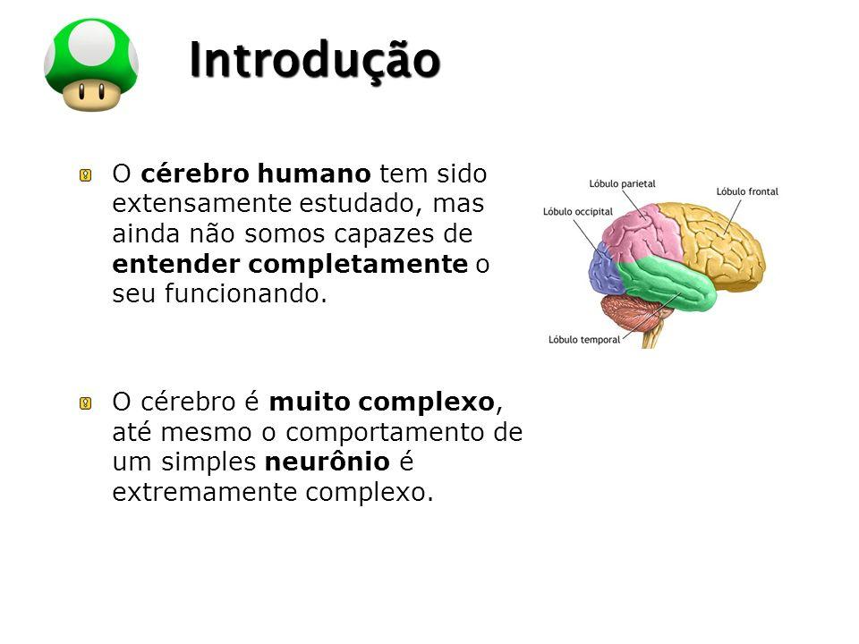 Introdução O cérebro humano tem sido extensamente estudado, mas ainda não somos capazes de entender completamente o seu funcionando.