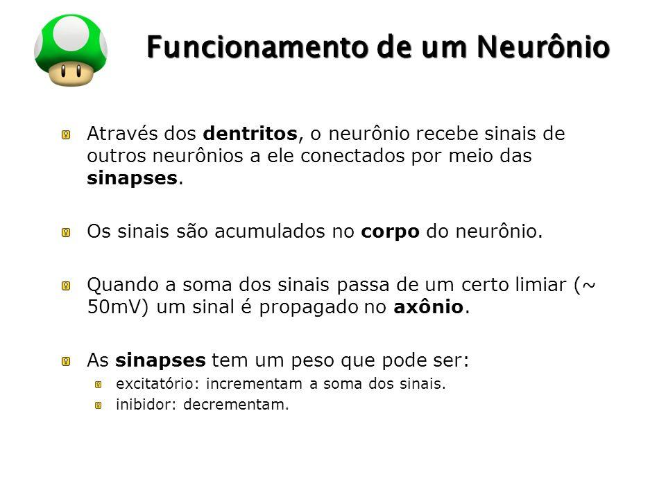 Funcionamento de um Neurônio