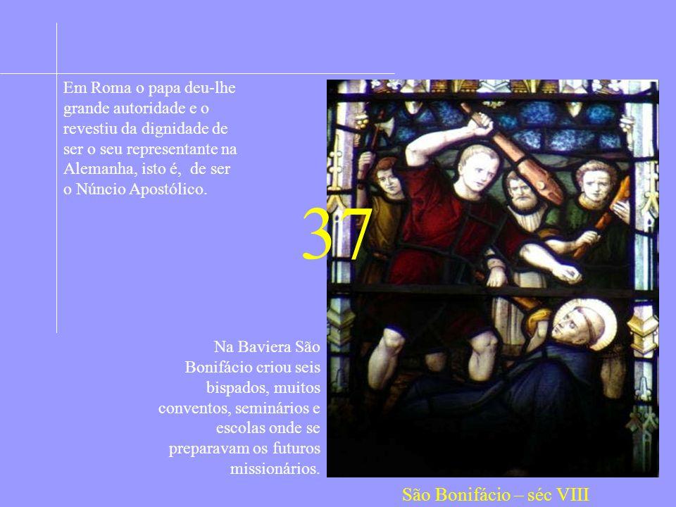 São Bonifácio – séc VIII