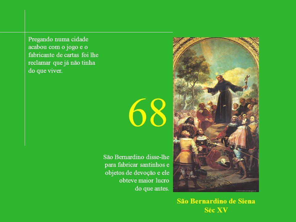 São Bernardino de Siena Séc XV