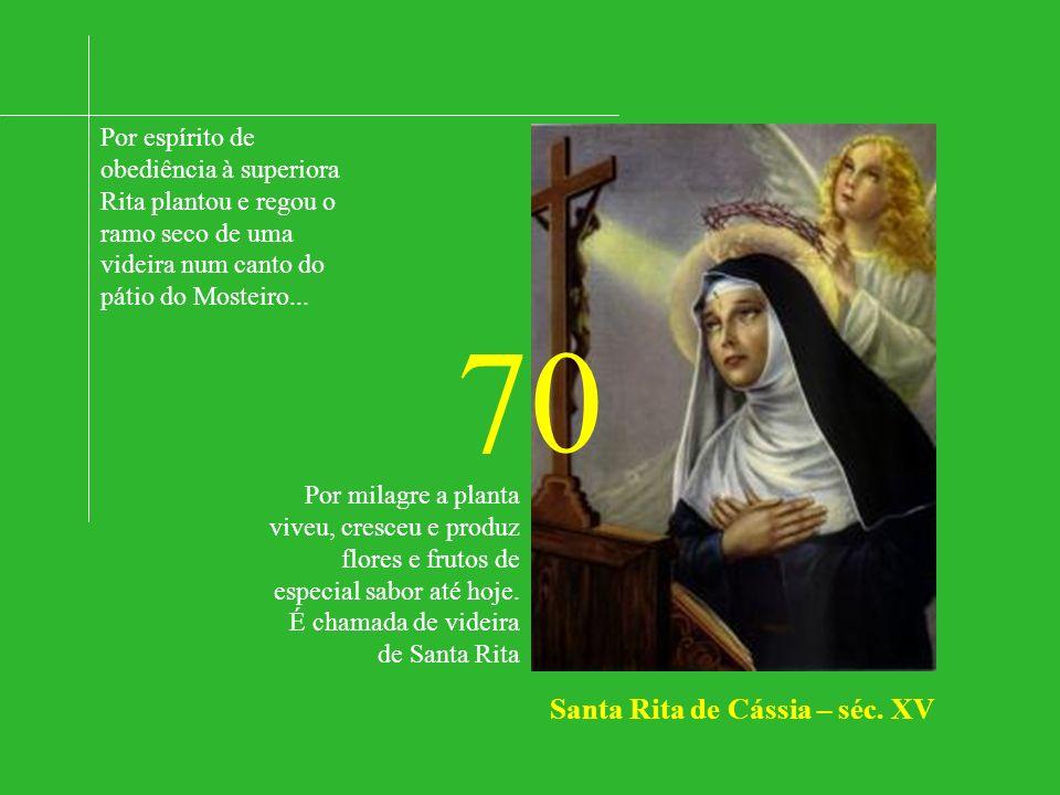 70 Santa Rita de Cássia – séc. XV