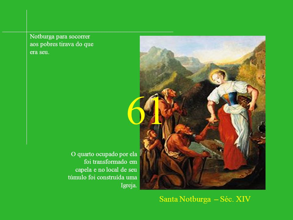 Santa Notburga – Séc. XIV