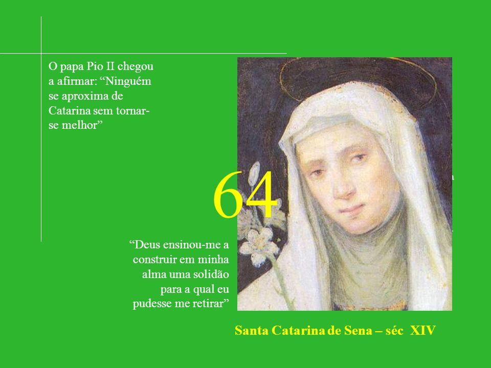 Santa Catarina de Sena – séc XIV