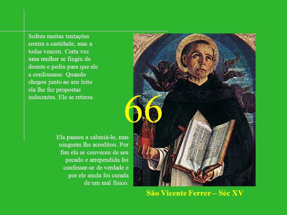 São Vicente Ferrer – Séc XV