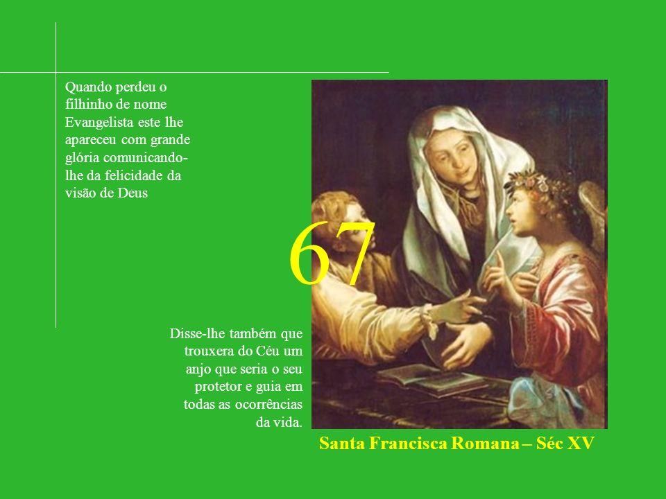 Santa Francisca Romana – Séc XV