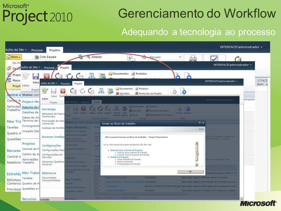 Gerenciamento do Workflow