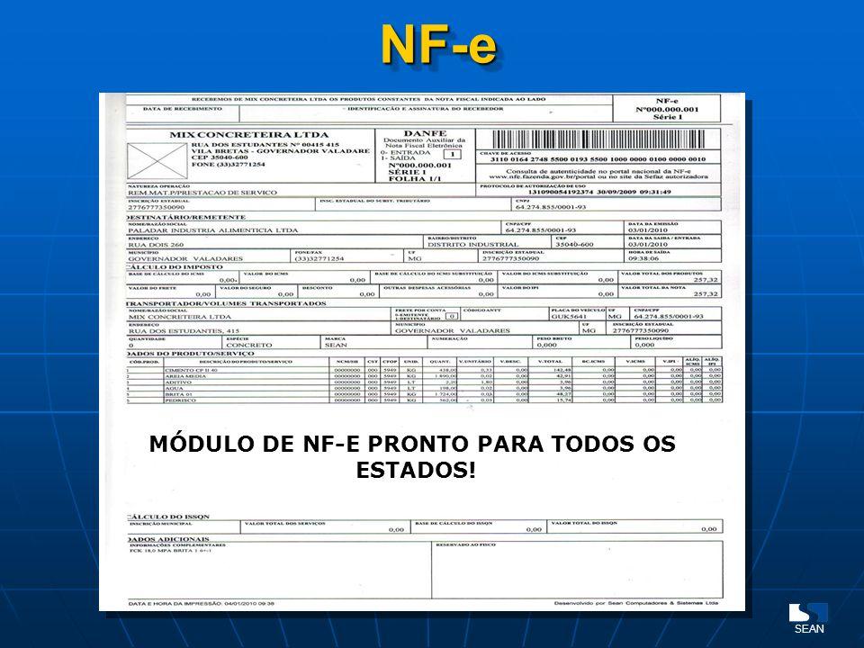 MÓDULO DE NF-E PRONTO PARA TODOS OS