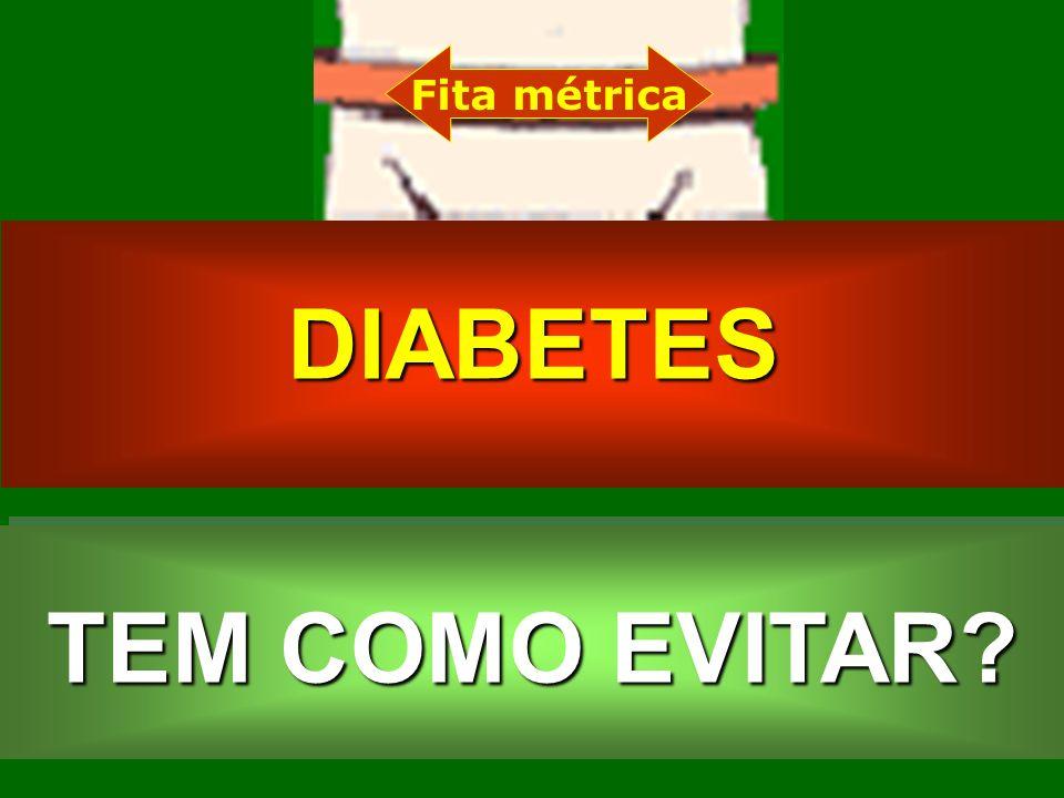 DIABETES TEM COMO EVITAR