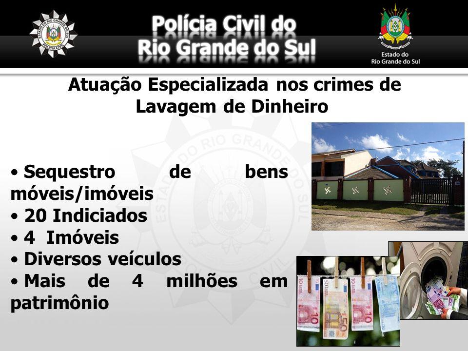 Atuação Especializada nos crimes de Lavagem de Dinheiro
