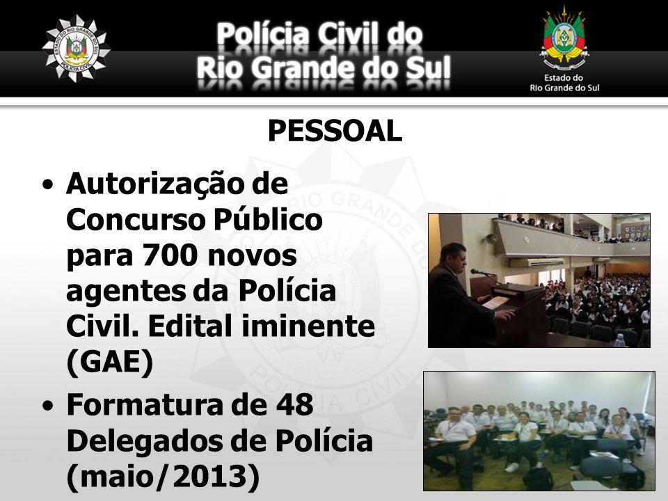 PESSOAL Autorização de Concurso Público para 700 novos agentes da Polícia Civil. Edital iminente (GAE)