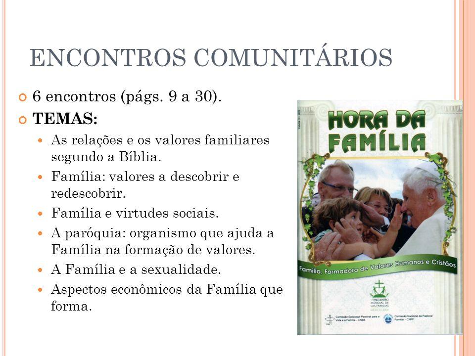 ENCONTROS COMUNITÁRIOS